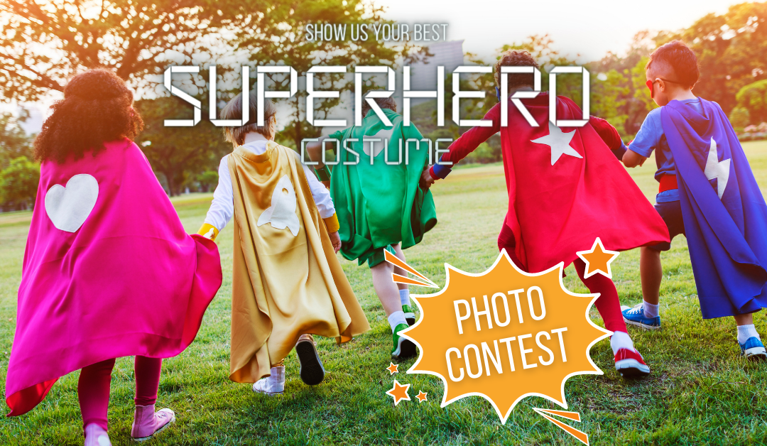 Superhero Costume Photo Contest: UPDATE We Have a Winner!